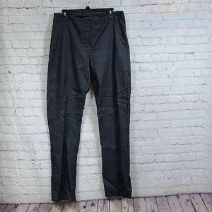 Long Tall Sally Pull On Ponte Pants Charcoal Black